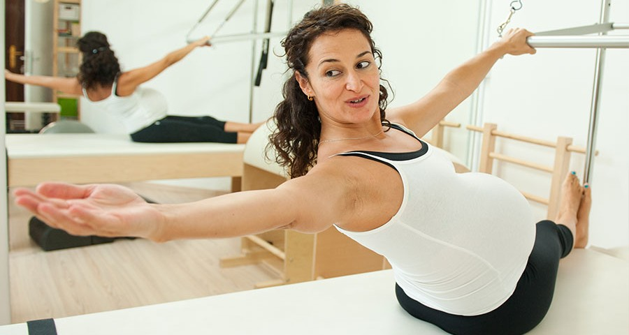 ejercicios para embarazadas, ginecología, Dr. Félix Lugo,